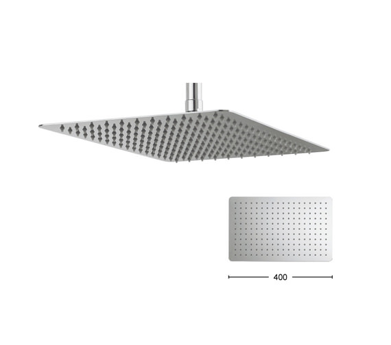 Alternate image of Crosswater Glide 300 x 200mm Wide Rectangular Shower Head
