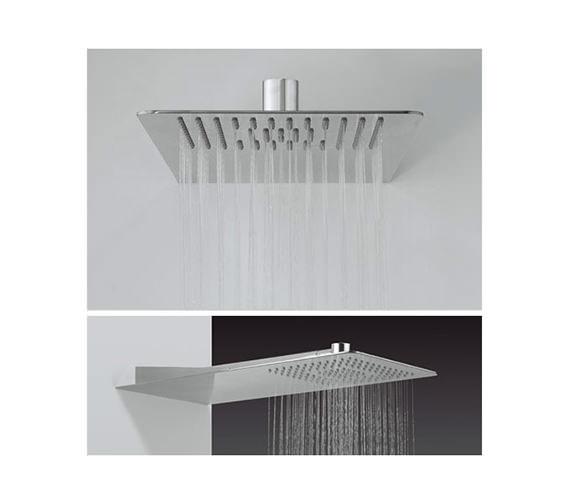 Crosswater Glide 220 x 500mm Rectangular Shower Head