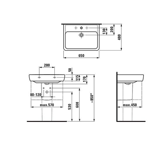 Technical drawing QS-V41903 / 8.1895.3.000.109.1