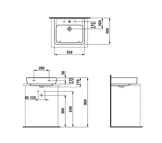 Technical drawing QS-V41911 / 8.1795.1.000.109.1