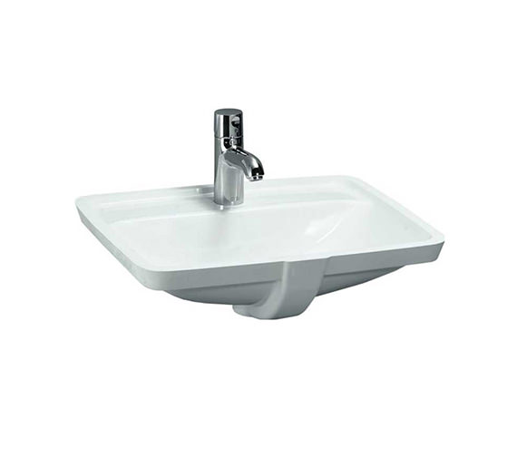 Laufen Pro A Built-in Washbasin 525 x 400mm With Tap Ledge