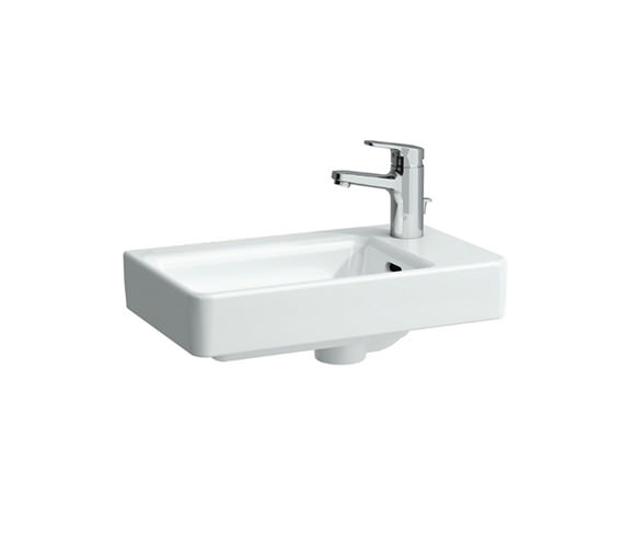 Laufen Pro A 480mm Small Countertop Basin Asymmetric Right 0 Tap Hole