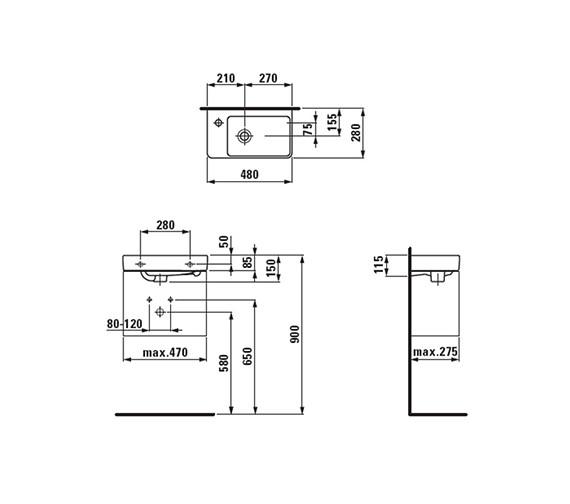 Technical drawing QS-V41923 / 8.1595.5.000.109.1