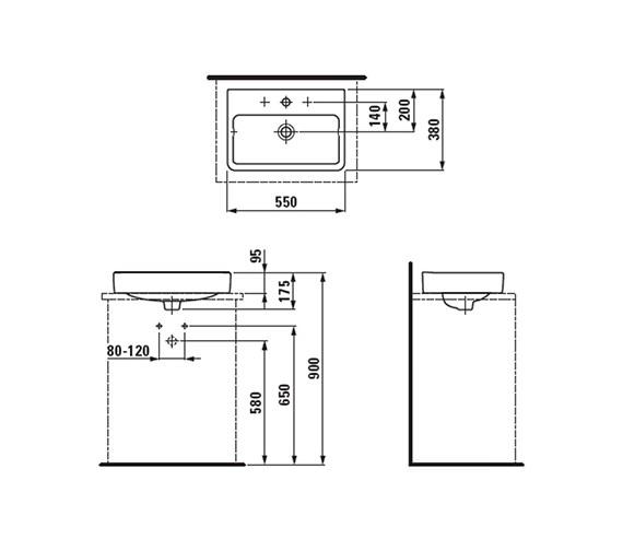 Technical drawing QS-V41928 / 8.1295.2.000.109.1