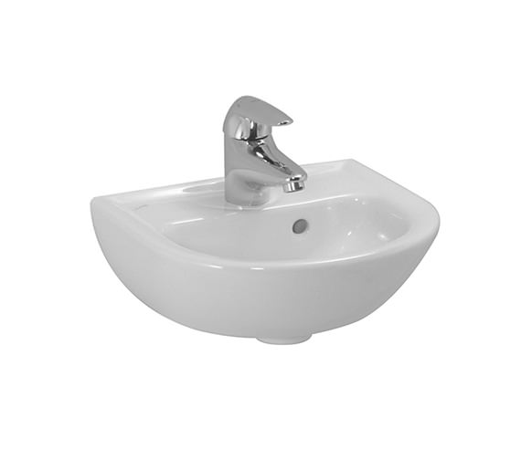 Laufen Pro B 400 x 320mm Small Washbasin With 1 Tap Hole