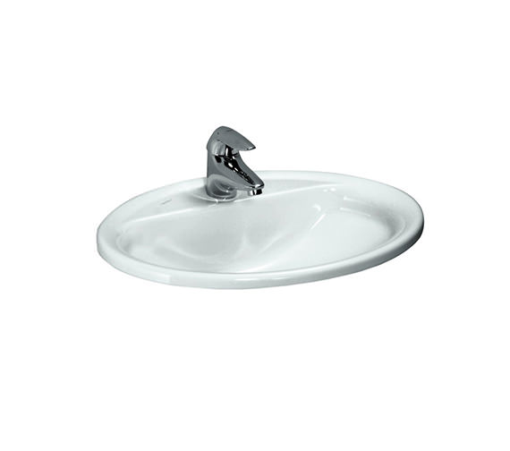 Laufen Pro B 560 x 440mm Drop-In Washbasin With 1 Tap Hole