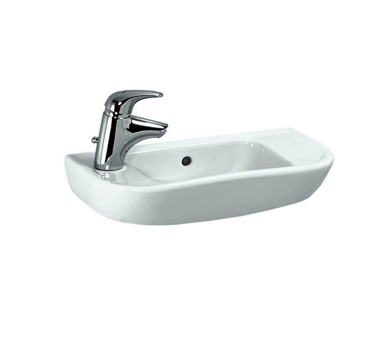 Laufen Pro B 500 x 250mm Small Washbasin With 1 Tap Hole Left