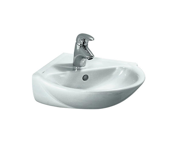 Laufen Pro B 495 x 500mm Corner Washbasin With 1 Tap Hole