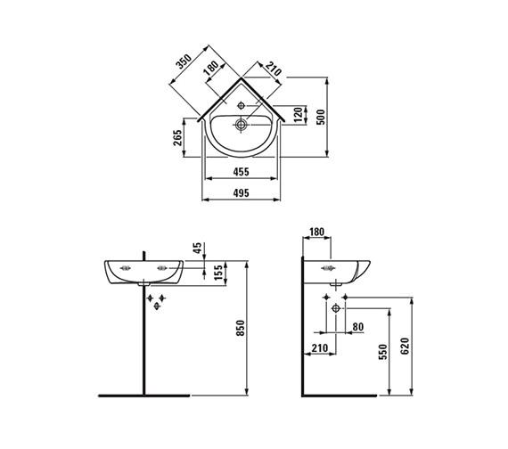Technical drawing QS-V41943 / 8.1695.6.000.104.1