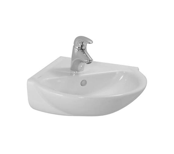 Laufen Pro B 440 x 380mm Corner Washbasin With 1 Tap Hole