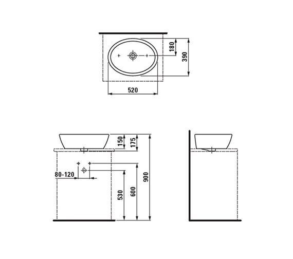 Technical drawing QS-V41947 / 8.1296.4.000.109.1