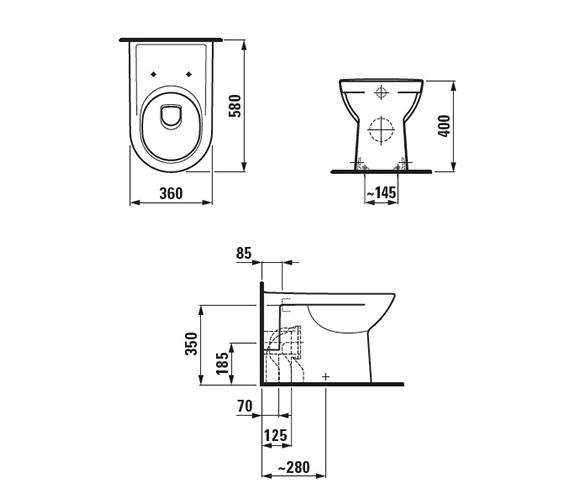 Technical drawing QS-V41959 / 8.2295.1.000.000.1