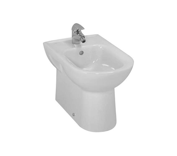 Laufen Pro Floorstanding White Bidet With 1 Tap Hole