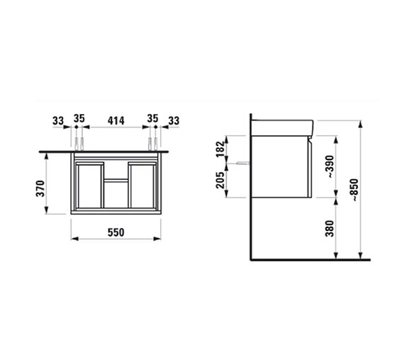 Technical drawing QS-V41980 / 4.8303.1.095.423.1