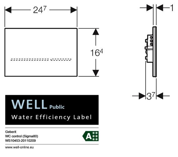 Technical drawing QS-V41993 / 116.091.SM.1