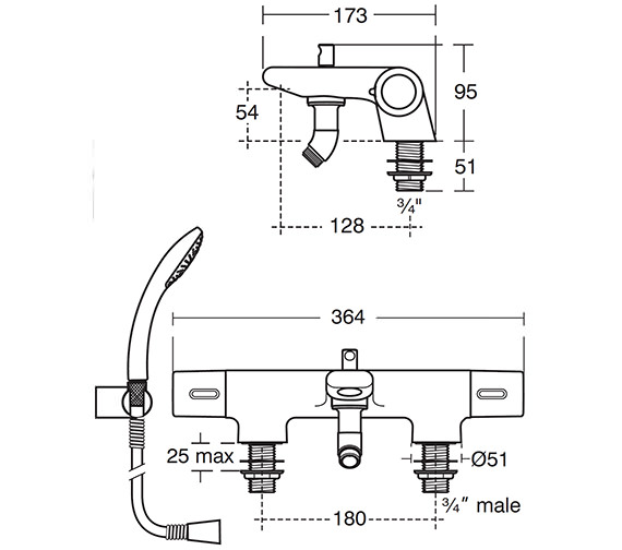 Technical drawing QS-V42002 / A4616AA