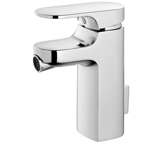 Ideal Standard Moment Single Lever Bidet Mixer With Pop-Up Waste