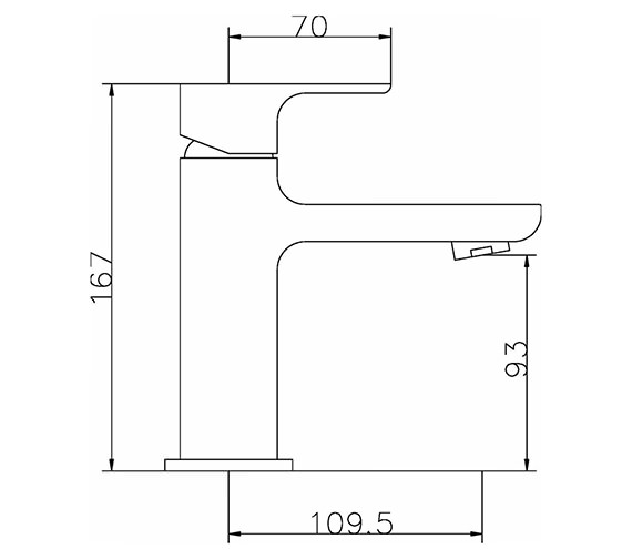 Technical drawing QS-V42041 / ART305
