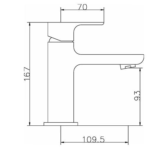 Technical drawing QS-V42041 / ART305