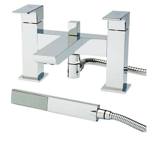 Hudson Reed Art Bath Shower Mixer with Shower Kit - ART304