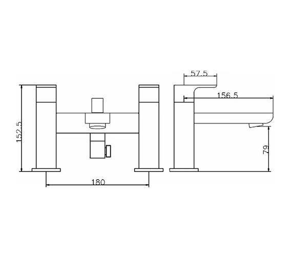 Technical drawing QS-V42044 / ART304