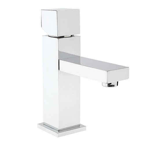 Hudson Reed Kubix Single Lever Mono Basin Mixer Tap - PA355