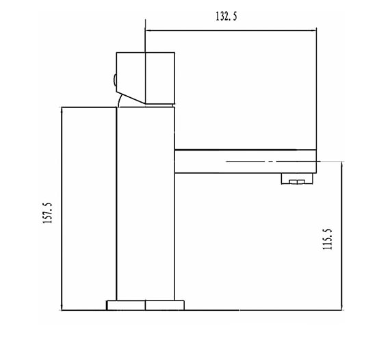 Technical drawing QS-V42045 / PA355