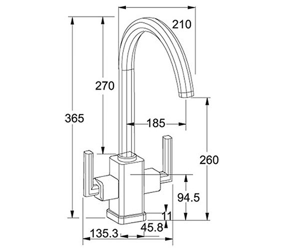 Technical drawing QS-V42112 / 1150049965