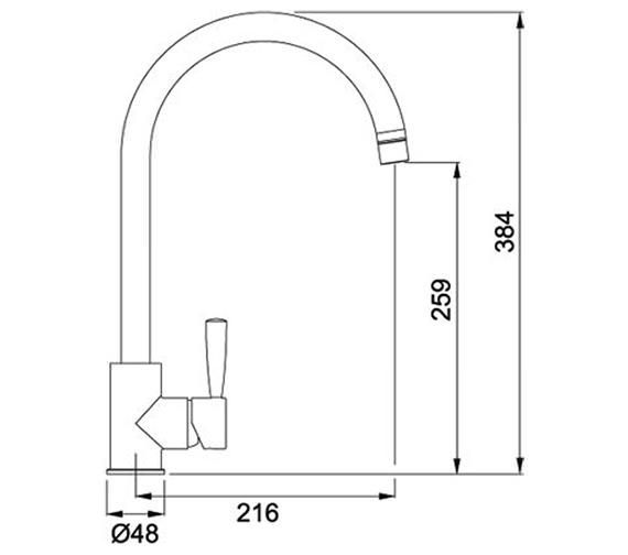 Technical drawing QS-V42126 / 1150250326