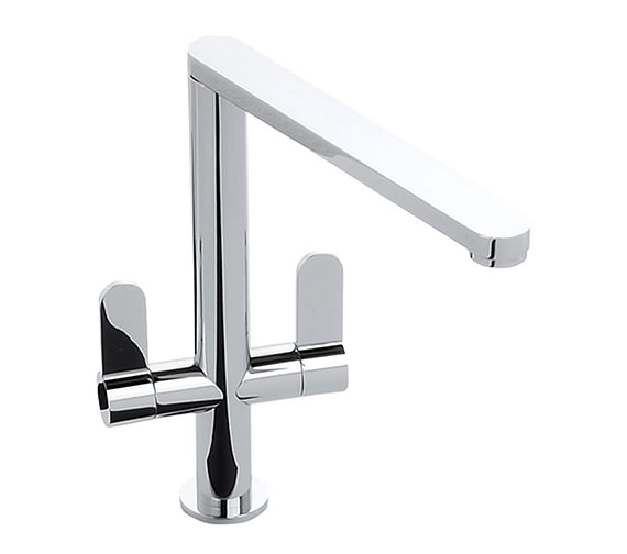 Abode Linear Chrome Monobloc Kitchen Mixer Tap