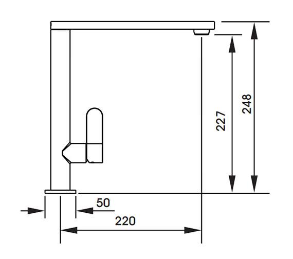 Technical drawing QS-V42132 / AT1187