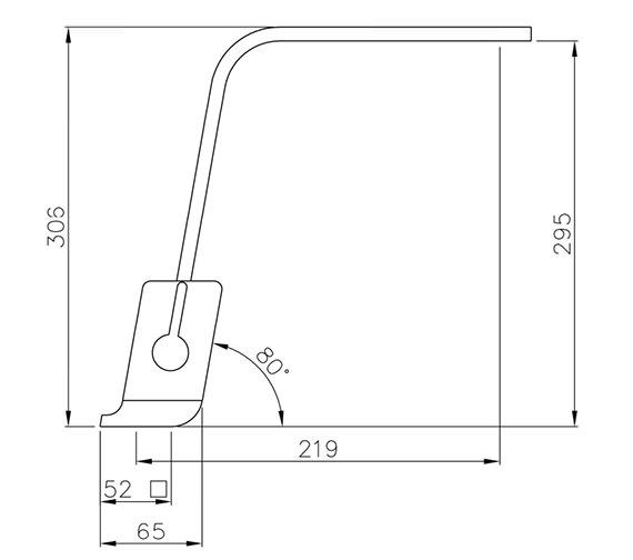 Technical drawing QS-V42141 / AT1189