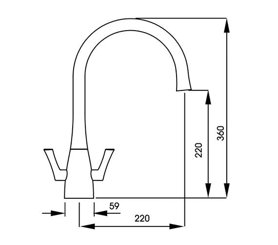 Technical drawing QS-V42146 / AT1169