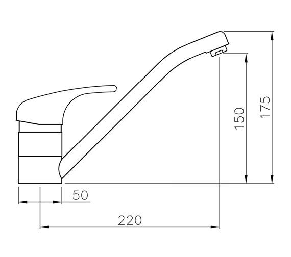 Technical drawing QS-V42148 / AT1085