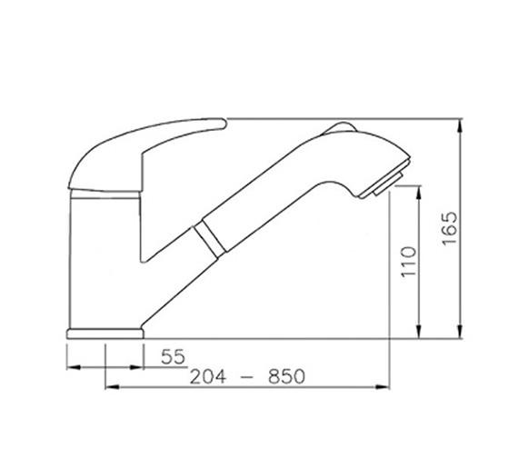Technical drawing QS-V42149 / AT1080