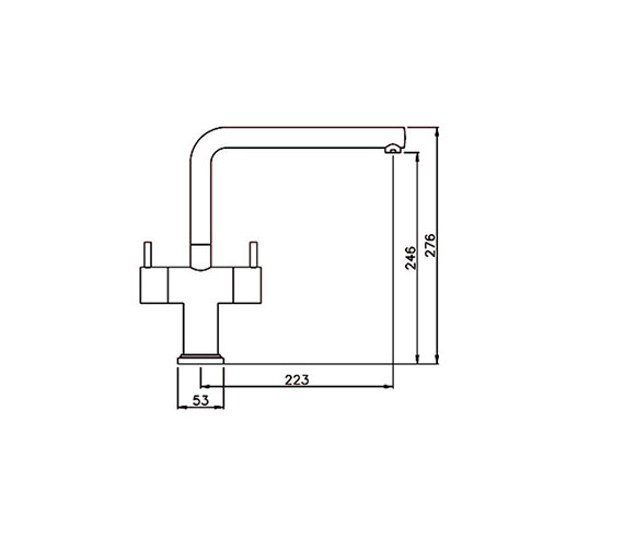 Technical drawing QS-V42164 / AT1200