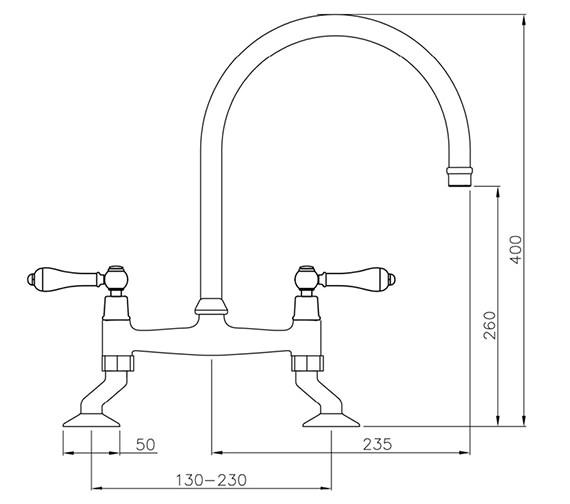 Technical drawing QS-V42170 / AT1029