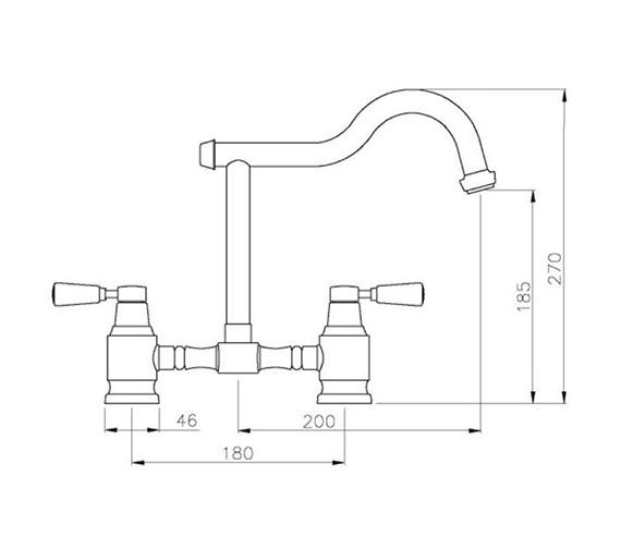 Technical drawing QS-V42173 / AT1124