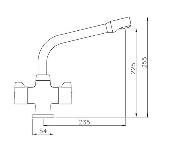 Technical drawing QS-V42175 / AT1007