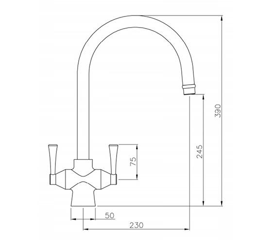 Technical drawing QS-V42176 / AT1019