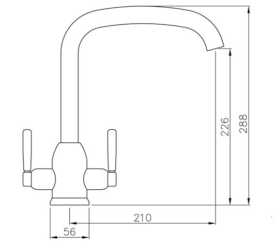 Technical drawing QS-V42180 / AT1111