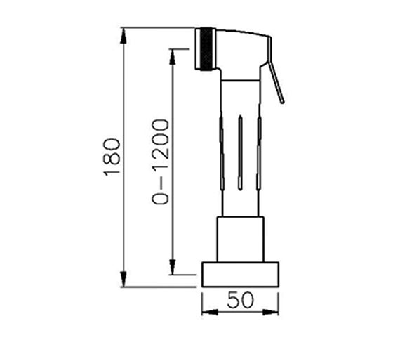 Technical drawing QS-V42193 / AT1100