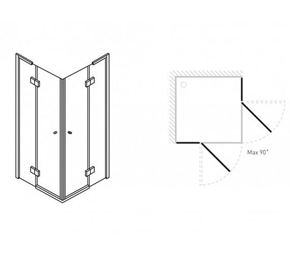 Technical drawing QS-V42231 / DCESC0900