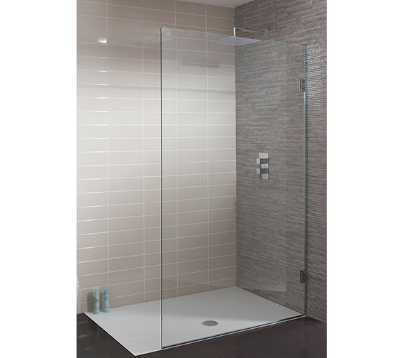 Simpsons Ten Frame-less Single Fixed Walk In Panel 400mm