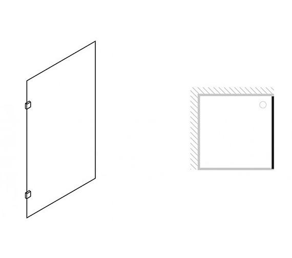 Technical drawing QS-V42240 / 1030400