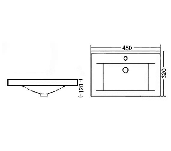 Technical drawing QS-V43102 / BAS007