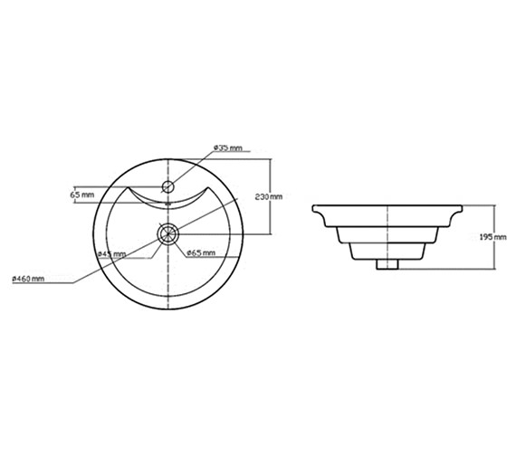 Technical drawing QS-V43103 / NBV006