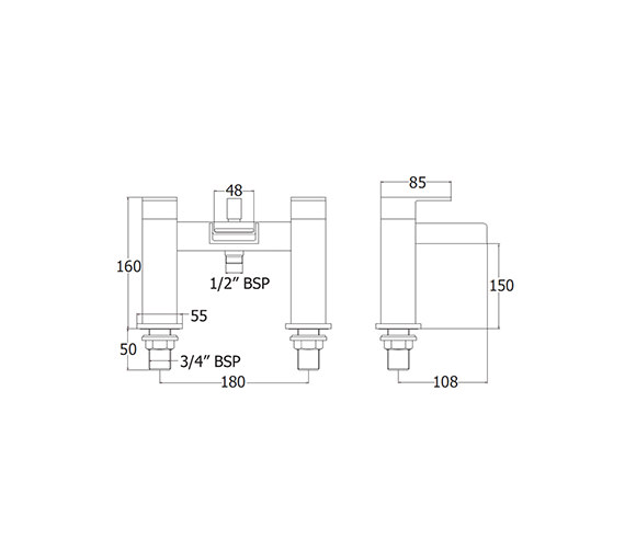 Technical drawing QS-V43140 / SPA106