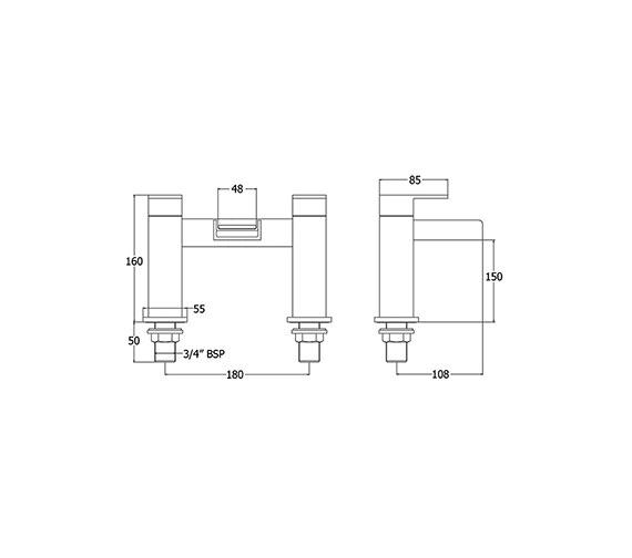 Technical drawing QS-V43141 / SPA108