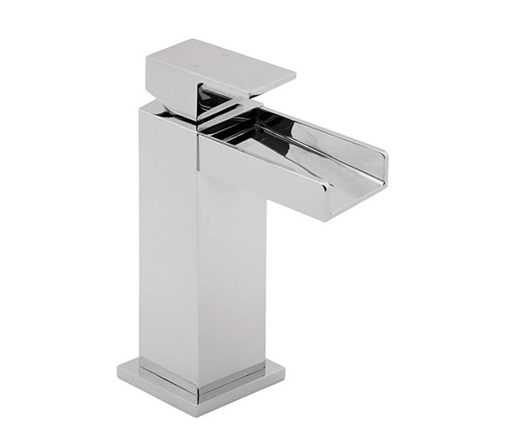 Deva Sparkle Mono Basin Mixer Tap With Press Top Waste - SPA113